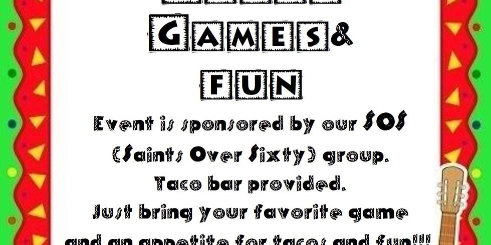 GAMES & TACOS