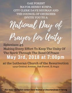 National Day of Prayer Flyer