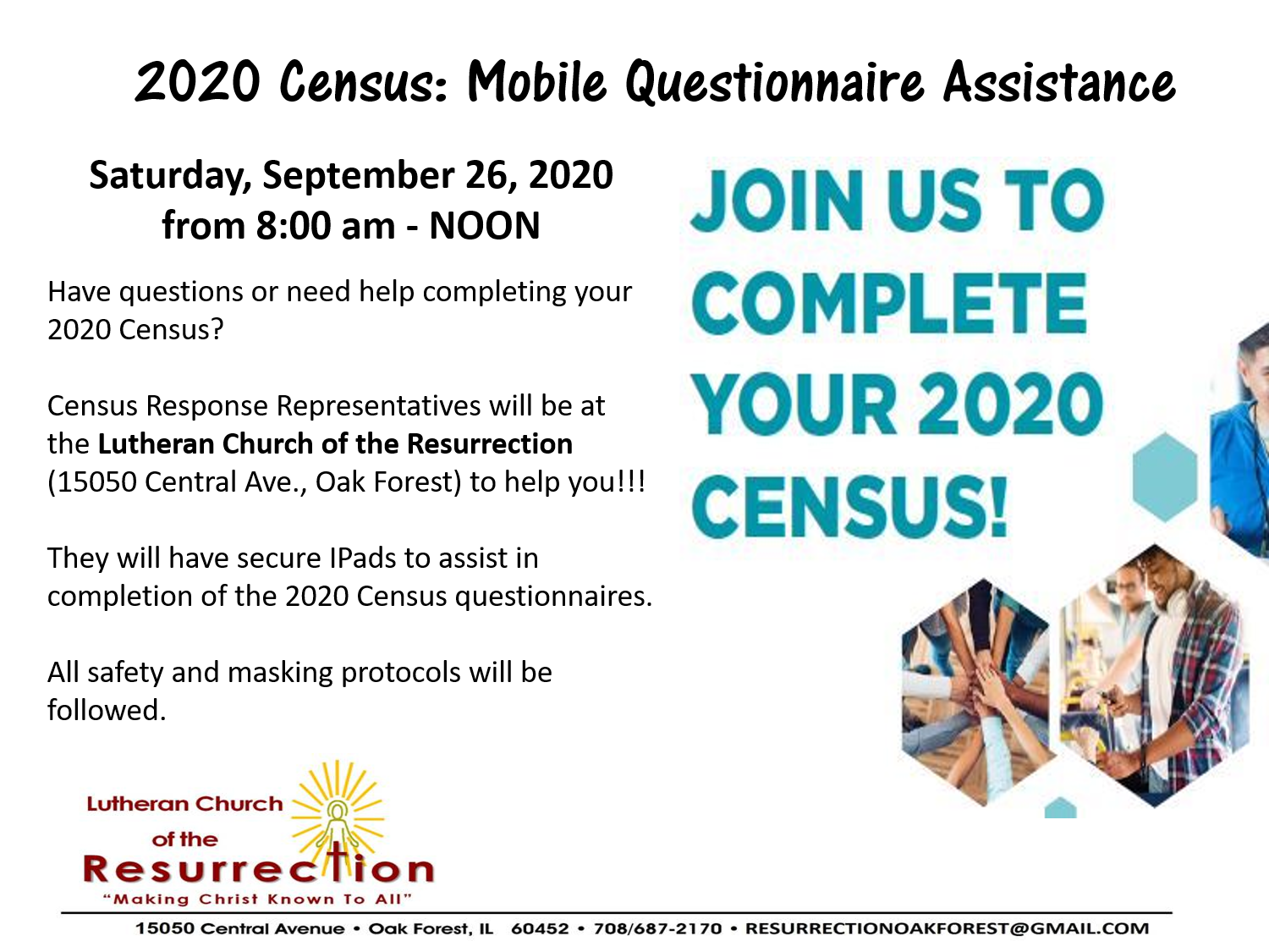 Census Event LCR