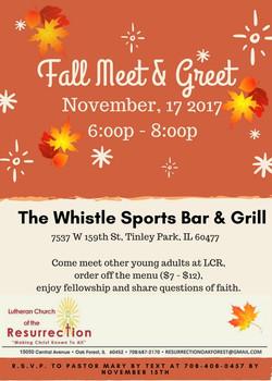 Fall Meet & Greet
