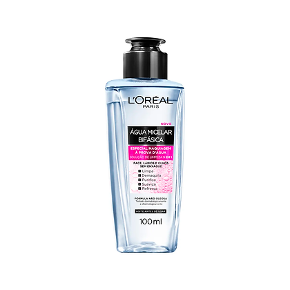 Água Micelar L'oréal Bifásica - 100 ml