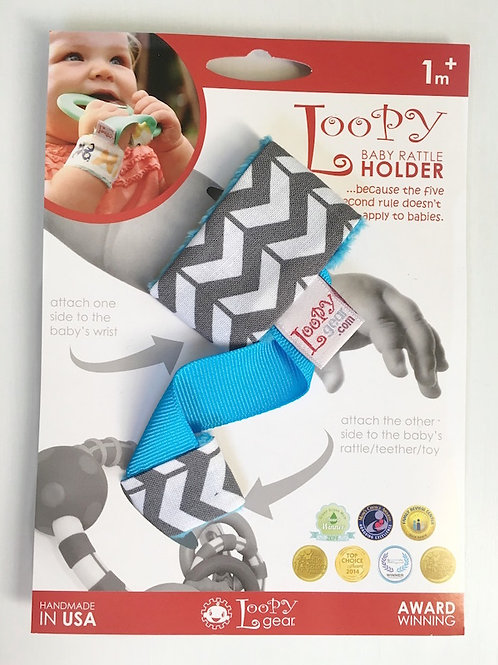 Toofeze Loopy Gear Gift Set - Sky Chevron
