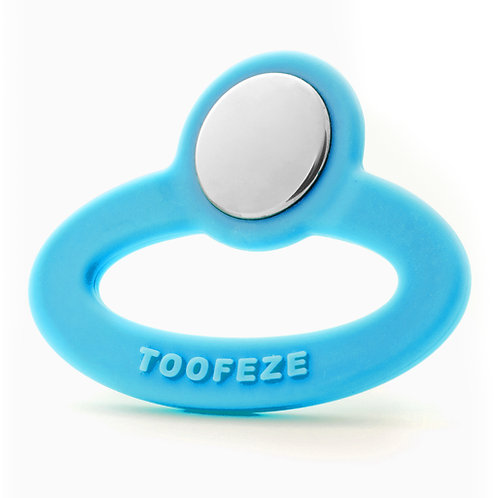 Toofeze Natural Sky Blue Baby Teether