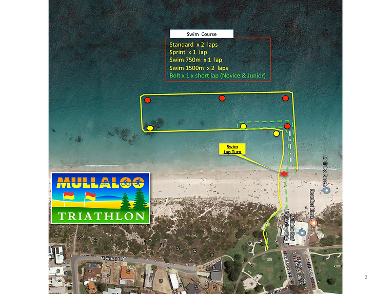 Mullaloo Tri Course - Swim revised V1.pn
