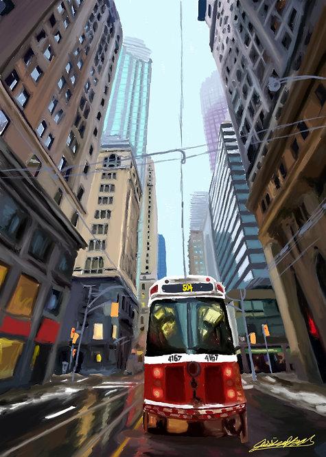 Toronto Streetcar Print
