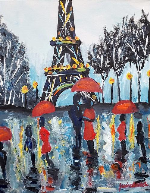 Un jour de pluié a Paris