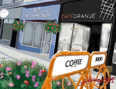 Cafe Oranje Print
