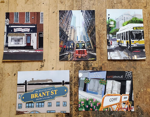 BUNDLE: FIVE Digital Prints