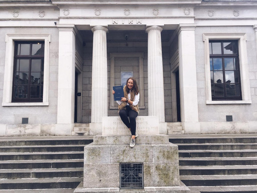 Studying abroad - Lucy Müller and her masters degree in Ireland
