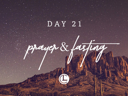 DAY 21: The Path to Revival