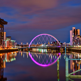 The Clyde Arc (or The Squinty Bridge)