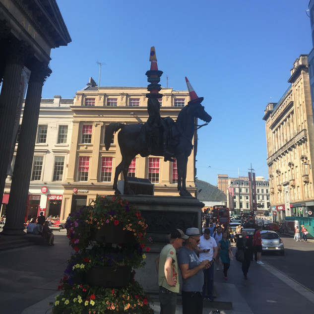 The Duke of Wellington Statue