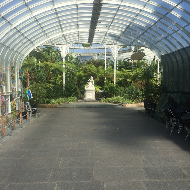 The Kibble Palace Glasshouse at Glasgow Botanic Gardens