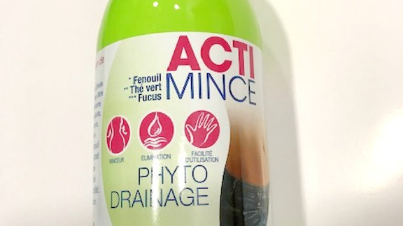 Boisson ACTI MINCE phyto drainage- 500 ml. A.D.P.