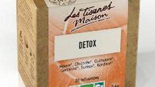 Tisane Detox - Le Comptoir d'Herboristerie - 20 dosettes.