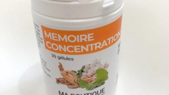 Complexe  Mémoire et Concentration - A.D.P. Ma Boutique Bien Etre - 30 gélules -