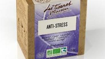 Tisane Anti-Stress- Le Comptoir d'Herboristerie - 20 dosettes