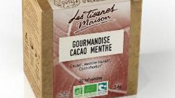 Tisane Gourmandise - cacao et menthe