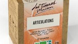 Tisane Articulations- Le Comptoir d'Herboristerie - 20 dosettes