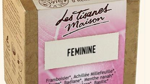 Tisane Féminine - Le Comptoir d'Herboristerie - 20 dosettes