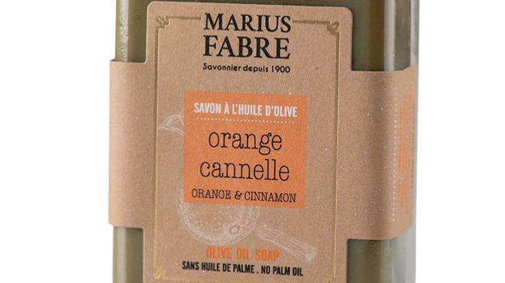 Savonnette 150 g - Ecorces d'orange et cannelle à l'huile d'olive BIEN ETRE
