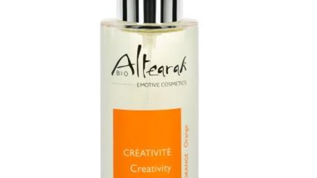 Parfum de soin Bio - Orange - Créativité