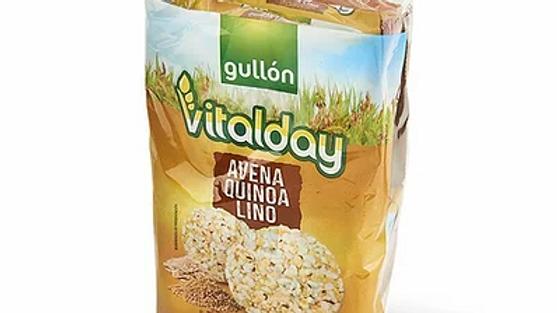 Galettes d'avoine, quinoa et lin - Vitalday_ Spécial Intolérant au gluten
