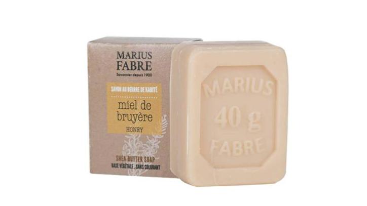 Savonnette 40 g -Miel au beurre de karité dans un étui BIEN ETRE