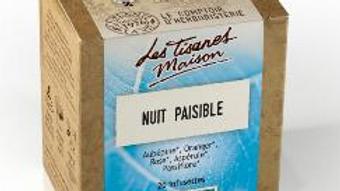 Tisane Nuit paisible- Le Comptoir d'Herboristerie - 20 dosettes