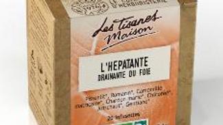Tisane l'hépatante - drainante du foie- Le Comptoir d'Herboristerie -20 dosettes