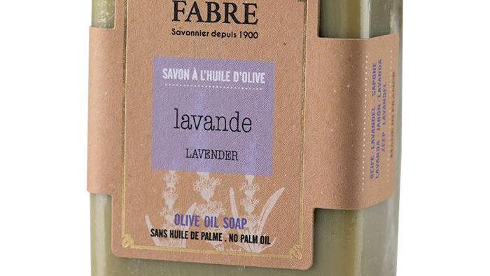Savonnette 150 g Lavande à l'huile d'olive BIEN ETRE