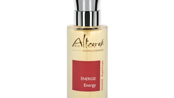 Parfum de soin Bio - Pourpre - Énergie