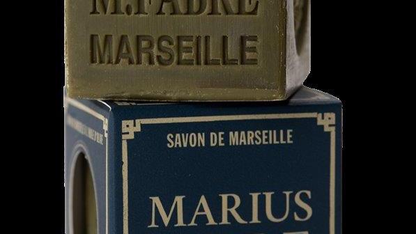 Savon de Marseille VERT 200 g à l'huile d'olive dans un étui NATURE