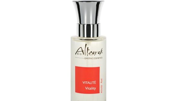 Parfum de soin Bio - Rouge - Vitalité 30 ml