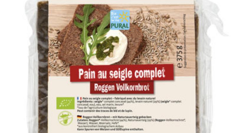 Pain complet au graines de chia Bio - 375 gr. -