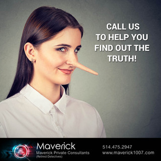 Call us to help you find out the truth!
