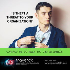 IS THEFT A THREAT TO YOUR ORGANIZATION?