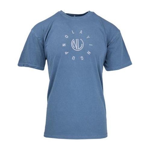 Encircled Monogram T-Shirt   Blue
