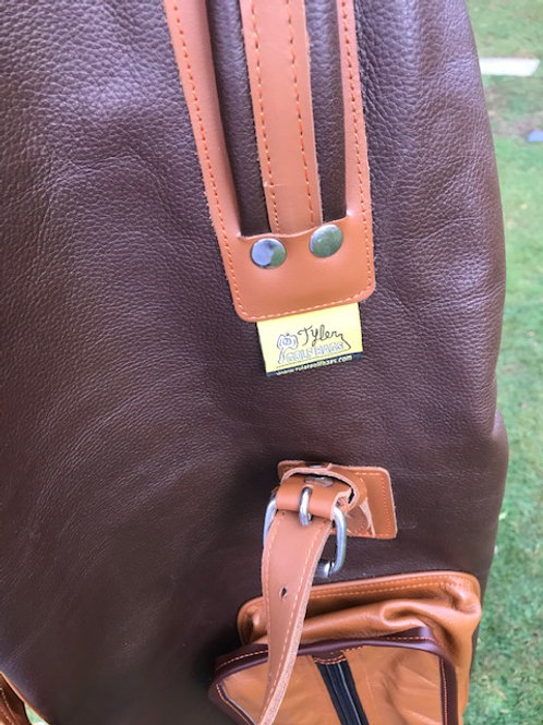 Tyler Golf Bags - Brown Leather