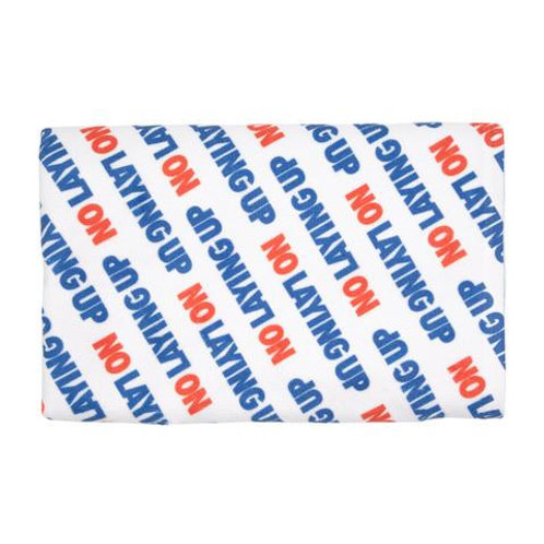 No Laying Up Script Towel | Red, White & Blue