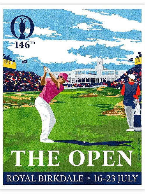 Royal Birkdale - 146th Open Print