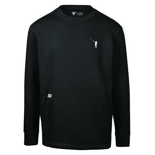NLU Pouch Pocket Sweatshirt | Black