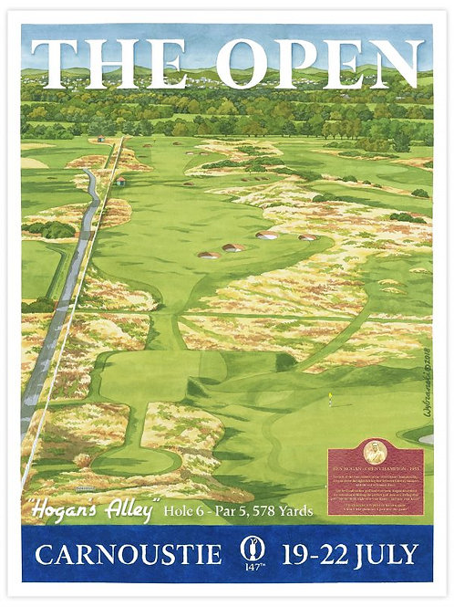 Carnoustie - 147th Open Print
