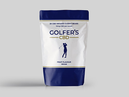 10mg Gummies - Golfers CBD