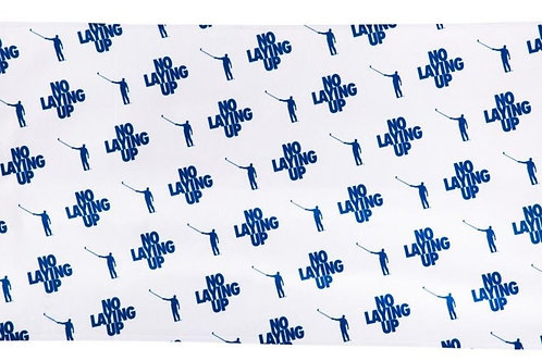 No Laying Up Towel | Blue & White