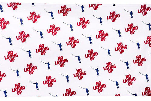 No Laying Up Towel | Red, Blue & White