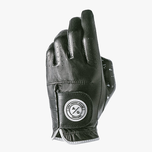 Asher Golf Glove - Jet Black