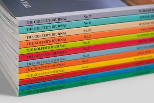 The Golfers Journal - Issues 1-13