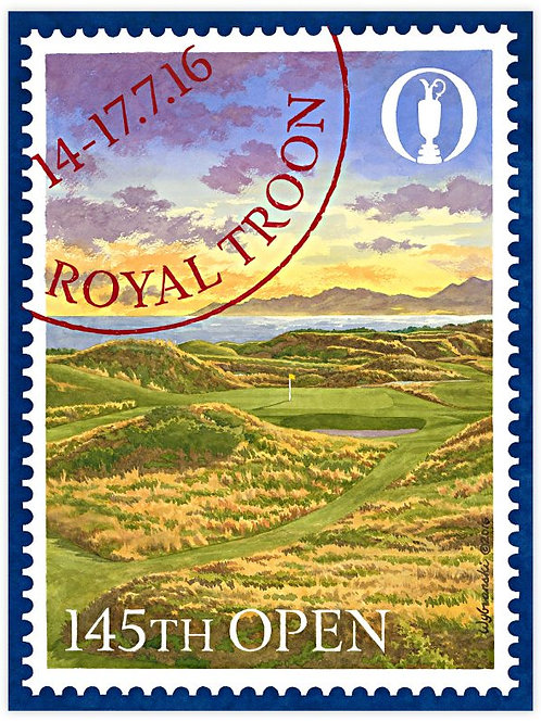 Royal Troon - 145th Open Print