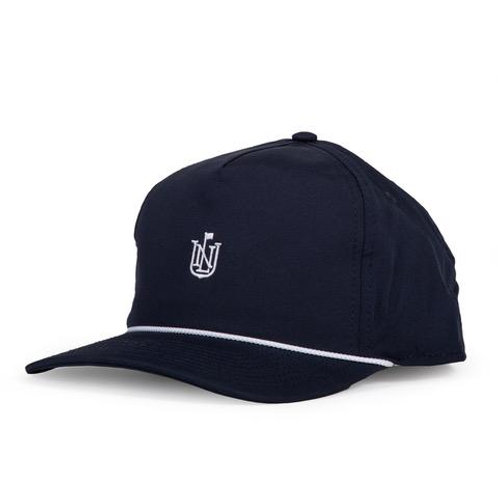 NLU - Crest Rope Hat | Navy with White Rope